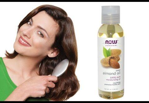 صور فوائد زيت اللوز الحلو , تاثير زيت اللوز الحلو علي الشعر والبشرة