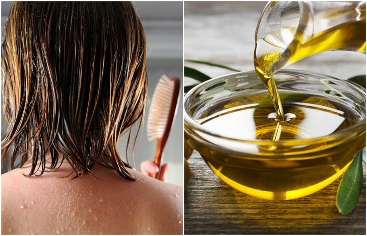 صوره فوائد زيت الزيتون للشعر , وصفة سحرية لزيادة كثافة الشعر بزيت الزيتون
