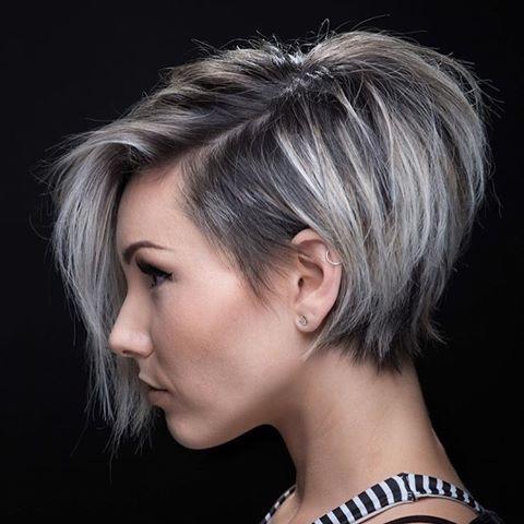 صورة تسريحات شعر قصير , صور قصات شعر قصيرة