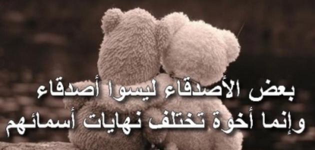صورة اجمل ما قيل عن الصداقة , كلام عن علاقة الاصدقاء 3595 6