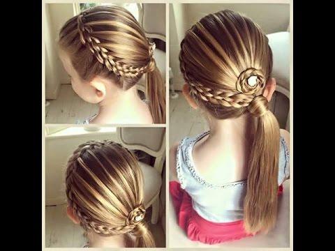 صورة تسريحات شعر للاطفال , اجمل تسريحات شعر للاطفال