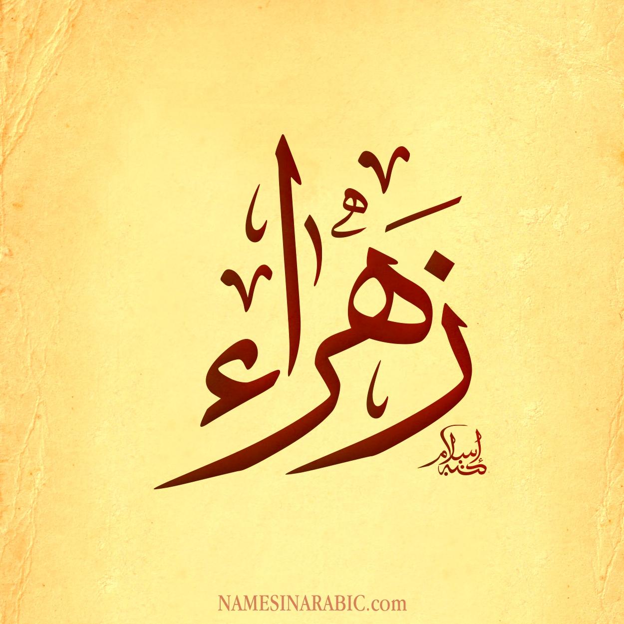 صور صور اسم زهراء , اجمل الصور لاسم زهراء