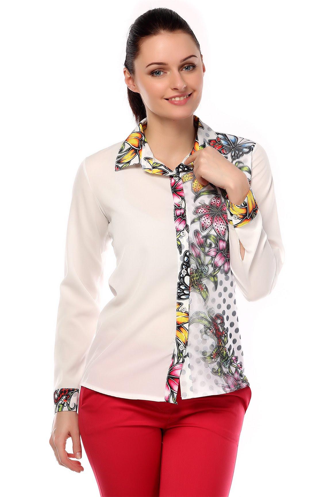 صورة قميص نسائي , اجدد القمصان النسائية