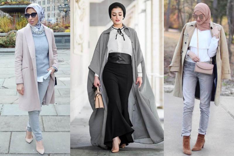 صورة ملابس محجبات 2019 , احدث واجدد ملابس المحجبات 1326 1
