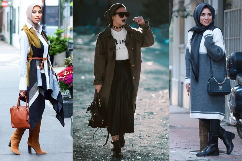 صورة ملابس محجبات 2019 , احدث واجدد ملابس المحجبات 1326 2