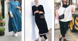 صور ملابس محجبات كاجوال , اجمل الملابس الكاجوال الخاص بالمحجبات