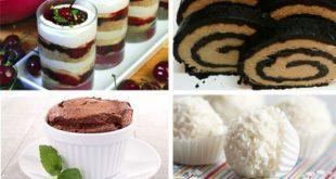 وصفات حلويات سهلة , وصفات سريعة للحلويات