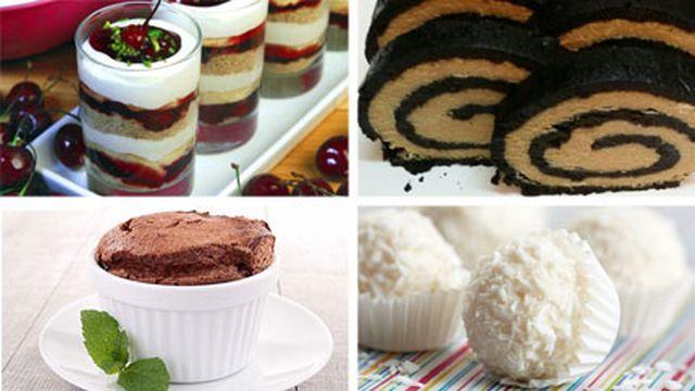 صورة وصفات حلويات سهلة , وصفات سريعة للحلويات