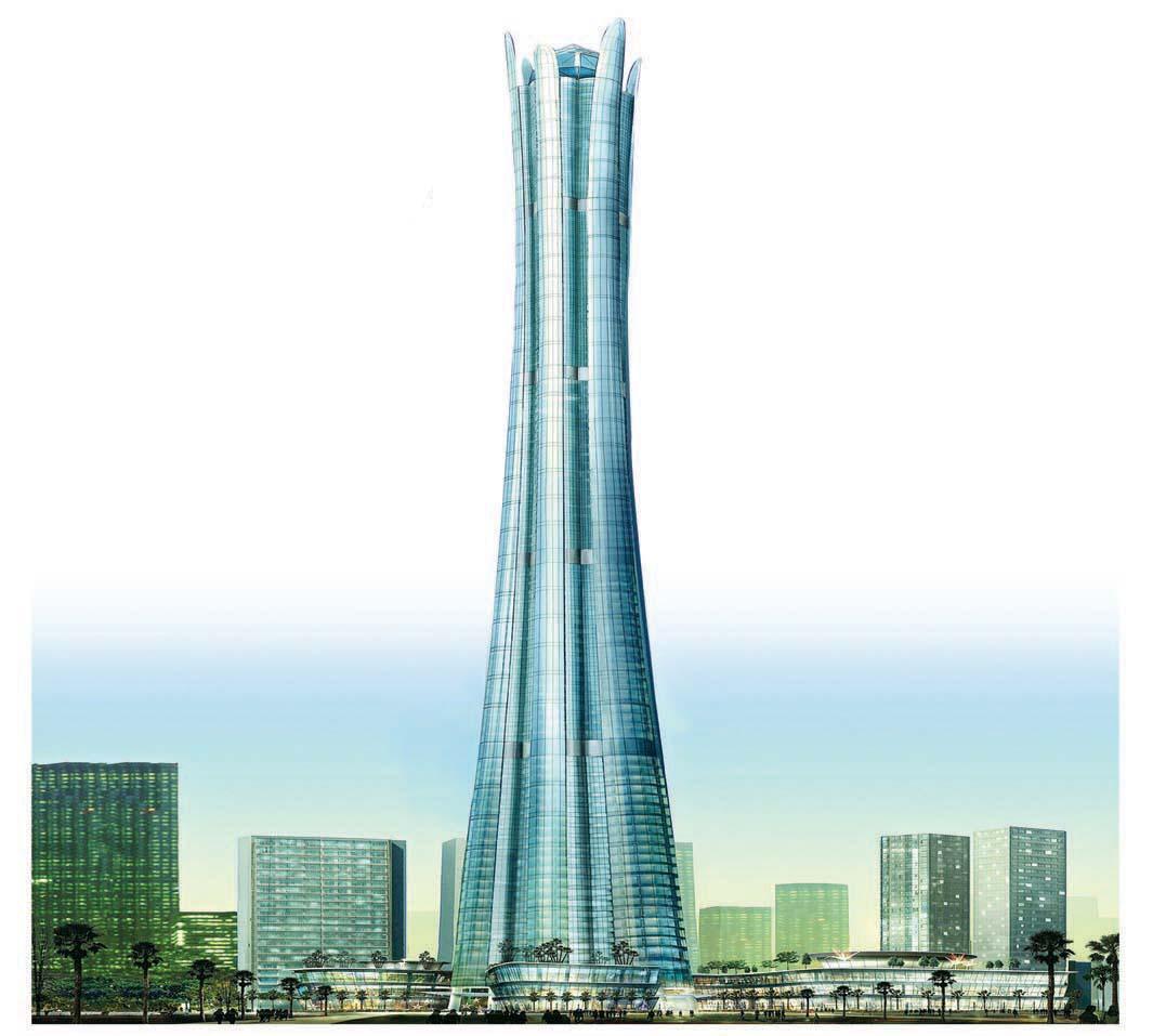 صورة اطول برج في العالم , صور لاطول مباني في العالم