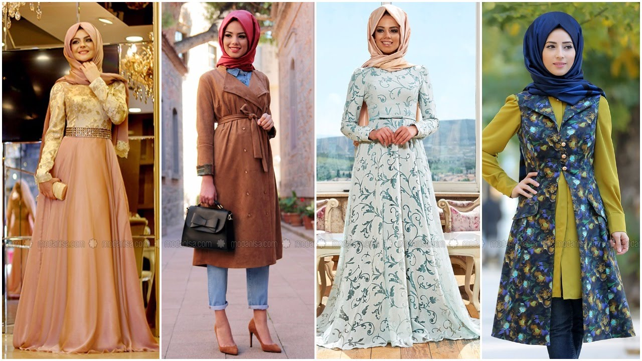 صورة ملابس محجبات للبيع , ملابس للسيدات المحجبات معروضة للبيع