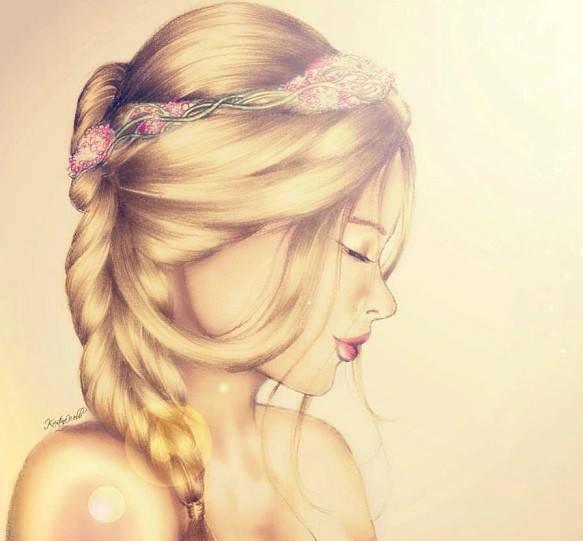 صورة رسومات بنات جميلة , صور مرسومة لبنات جميله 4089 1