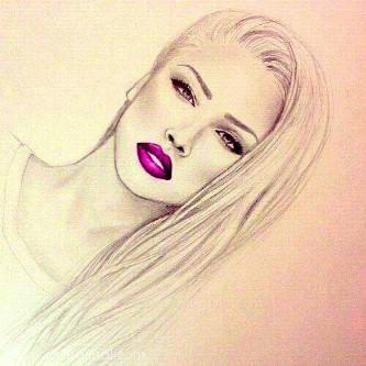 صورة رسومات بنات جميلة , صور مرسومة لبنات جميله 4089 3