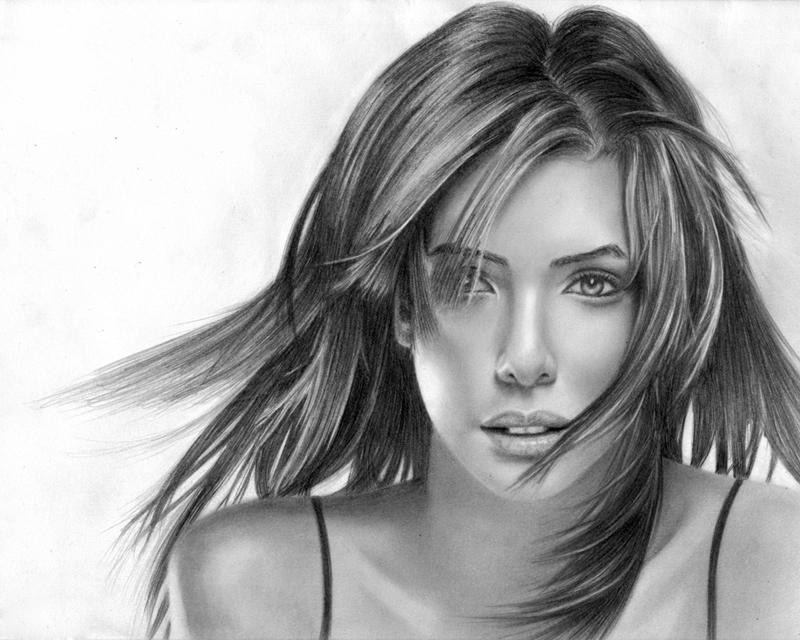 صورة رسومات بنات جميلة , صور مرسومة لبنات جميله 4089 8