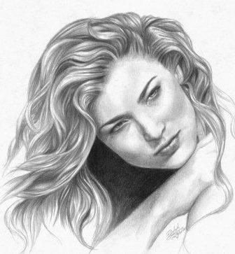 صورة رسومات بنات جميلة , صور مرسومة لبنات جميله 4089 9