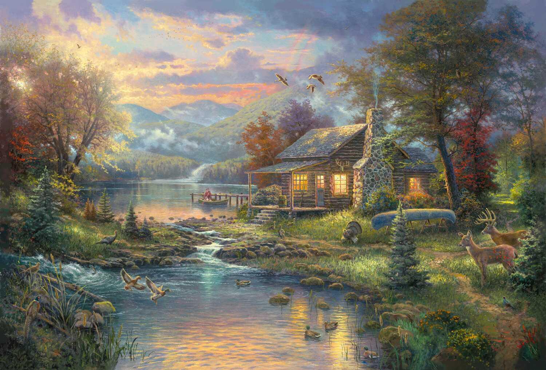 بالصور رسم منظر طبيعي , رسومات طبيعية 529 6