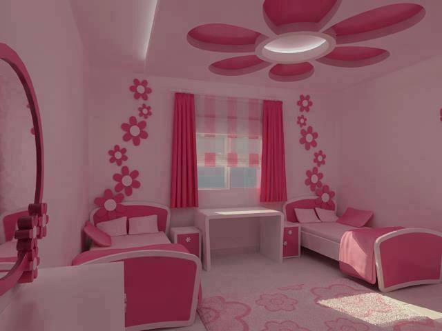 صورة ديكورات غرف نوم اطفال , اشكال غرف اطفال