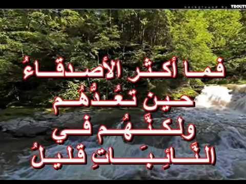 بالصور بيت شعر عن الصديق الغالي , اجمل الكلمات عن الصديق الغالي 1312 3