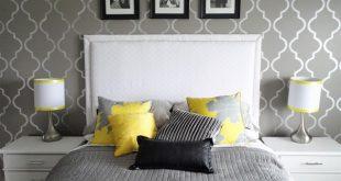 صورة ورق جدران رمادي , اجمل تصميم لورق الجدران بلون رمادي