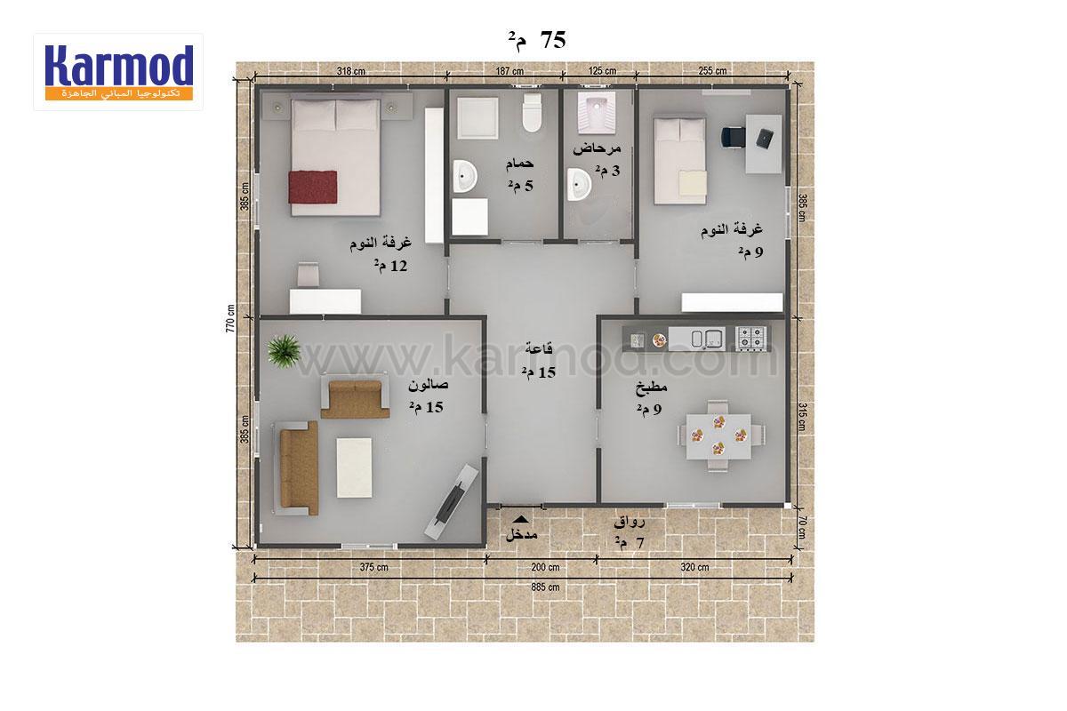 بالصور تصاميم منازل , احلى تصميم منزل 3753