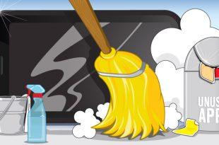 صور تنظيف الهاتف , طريقة لتنظيف الهاتف