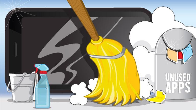 صوره تنظيف الهاتف , طريقة لتنظيف الهاتف