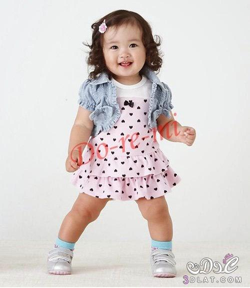 صورة ملابس اطفال بنات , اجمل الصور لفساتين البنات