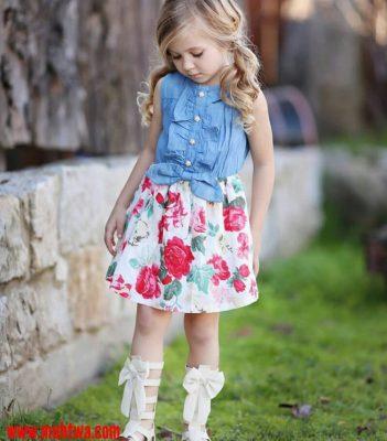 بالصور ملابس اطفال بنات , اجمل الصور لفساتين البنات 3820 7