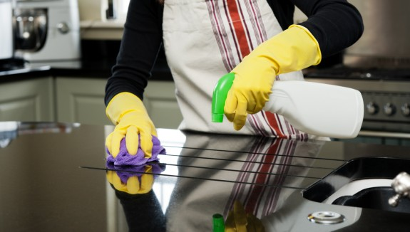 صوره تنظيف المطبخ , الطريقه الصحيحه لتنضيف المطبخ
