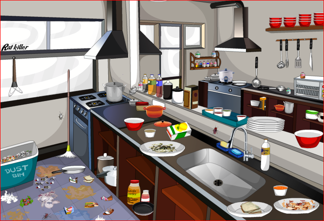 بالصور تنظيف المطبخ , الطريقه الصحيحه لتنضيف المطبخ 3831
