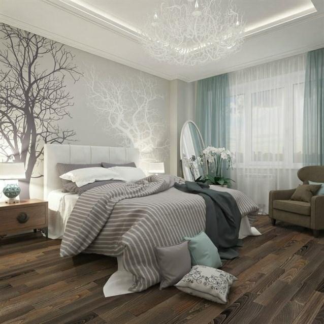 بالصور ورق جدران غرف نوم , صور بعض الديكورات لغرفه النوم 3859 2