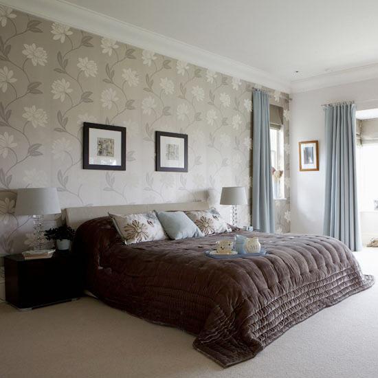بالصور ورق جدران غرف نوم , صور بعض الديكورات لغرفه النوم 3859 3