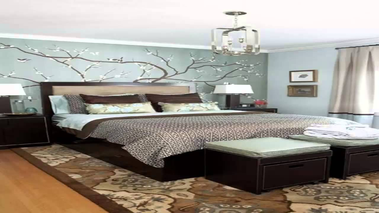بالصور ورق جدران غرف نوم , صور بعض الديكورات لغرفه النوم 3859 9