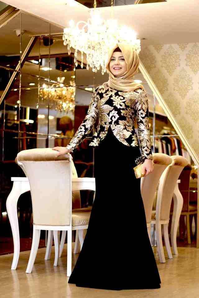 بالصور فساتين سواريه تركى , اجمل الصور لفساتين السورايه التركية 3939 6