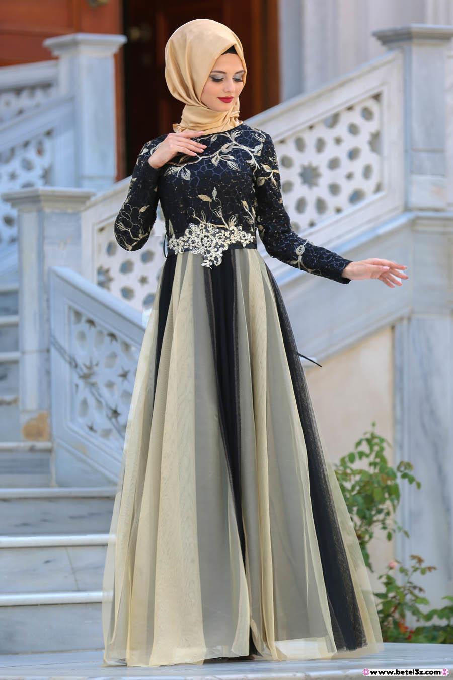 صوره فساتين سواريه تركى , اجمل الصور لفساتين السورايه التركية