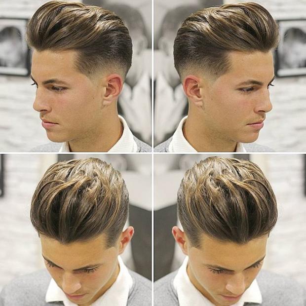 بالصور احدث قصات الشعر للرجال , ما هو جديد في قصات شعر الرجال 3941 5