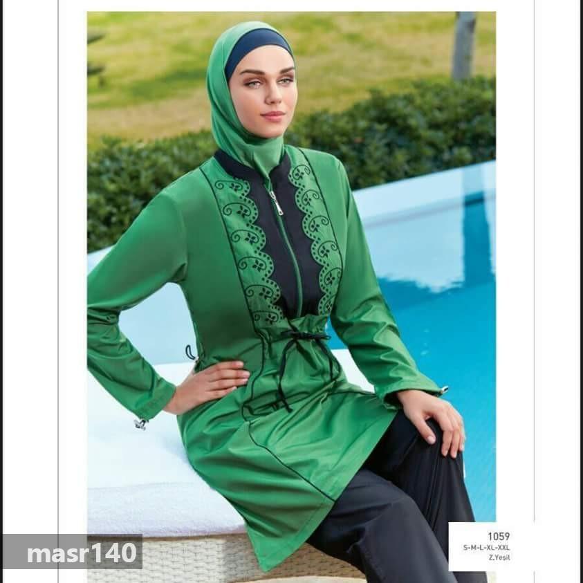 بالصور مايوه اسلامي , صور جميلة لاحدث المودلات لمايوه الاسلامى 3979 3
