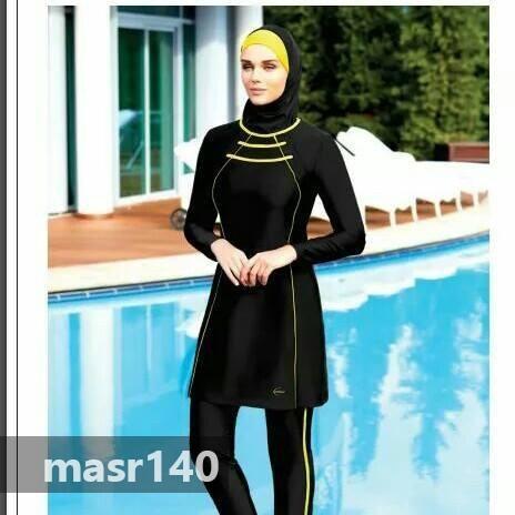 بالصور مايوه اسلامي , صور جميلة لاحدث المودلات لمايوه الاسلامى 3979 4