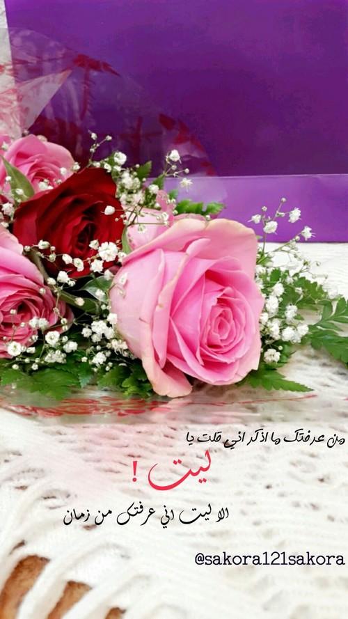 بالصور خواطر عن الورد , اجمل الكلمات عن الورد 491 7