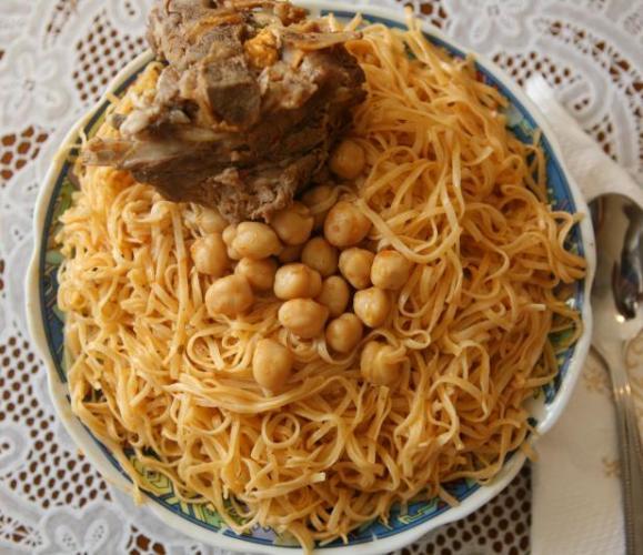 بالصور كيفية طبخ الرشتة , طريقة الرشتة الجزائرية 6440 5