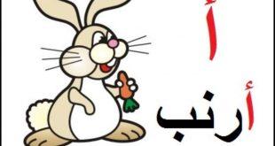 صورة تعليم الاطفال الحروف , كيفية شرح الحروف الابجدية