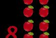 صور فاكهة مكونة من 4 حروف , التفاح فاكهة من اربع حروف