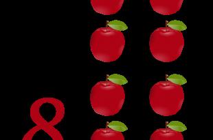 صورة فاكهة مكونة من 4 حروف , التفاح فاكهة من اربع حروف
