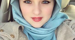 صورة صورة فتاة جميلة محجبة , تعالو شوفوا جمال المراة المحجبة