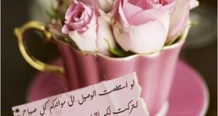 صورة اجمل صباح الخير بالصور , تعالو شوفو صباحي بطله حبيبي