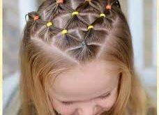بالصور تسريحات اطفال بالخطوات للشعر القصير , ازاى اخلى شعر بنتى القصير جميل 7269 12 228x165