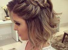صور شعر قصير وجميل , انوثه البنت في شعرها القصير