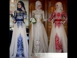 صورة فساتين محجبات تركية سوارية , احدث موديلات الفساتين التركية والسوريه بالصور