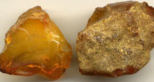 صور كيف اعرف الكهرمان الاصلي , حجر الكهرمان الغير مذيف