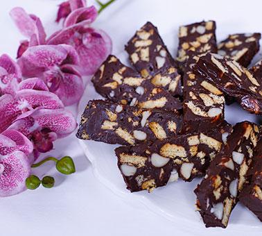 صورة انواع الحلويات الغربية , تحليه بسيطه غربيه