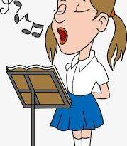 صورة بنات صغار يغنون , صور من مسابقات غناء